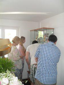 Besucherandrang