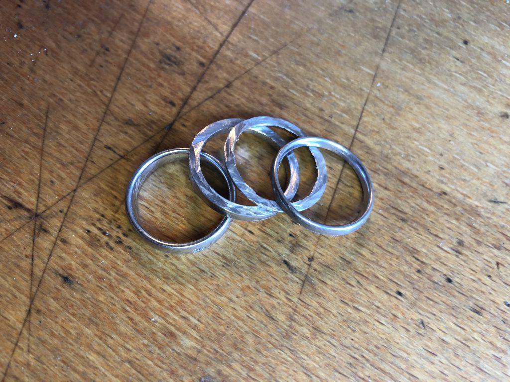 Der Ring ist zersägt