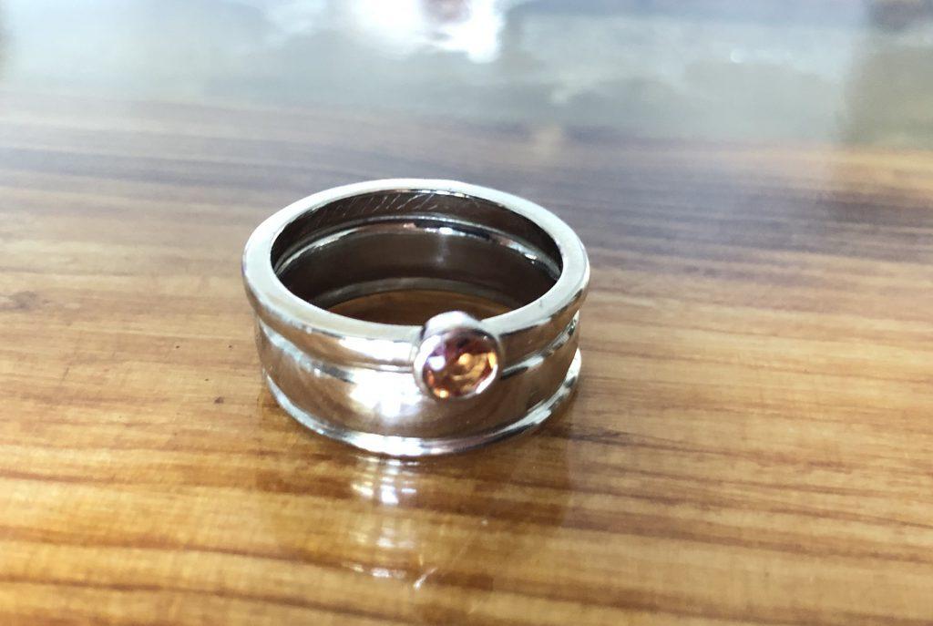 Beide Ringe gemeinsam