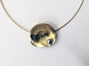 Auster mit Tahiti-Perle