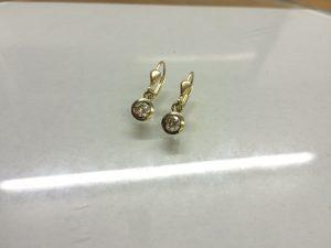 Brillant-Ohrhänger