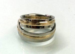 die fertigen Ringe
