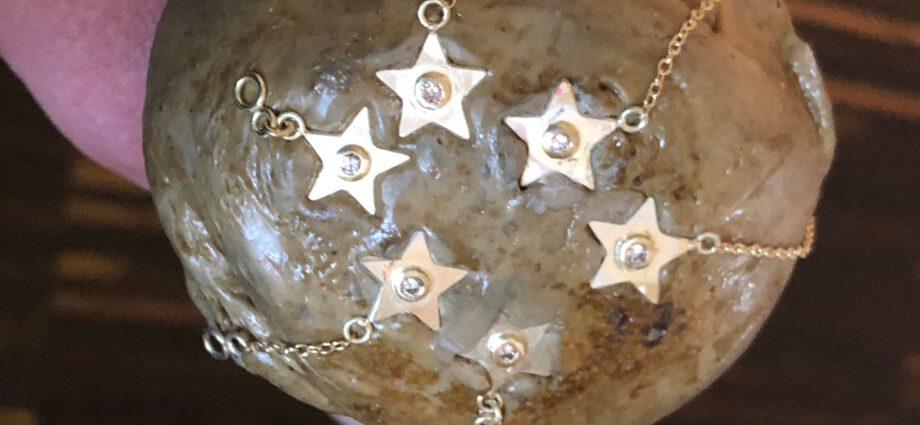 Sterne auf dem Kittstock