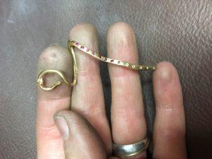 Goldkante - bereit für das Standgut