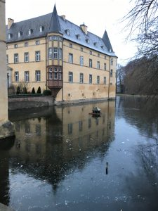 Burg Adendorf - Winter