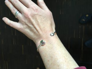 Der Reif am Arm