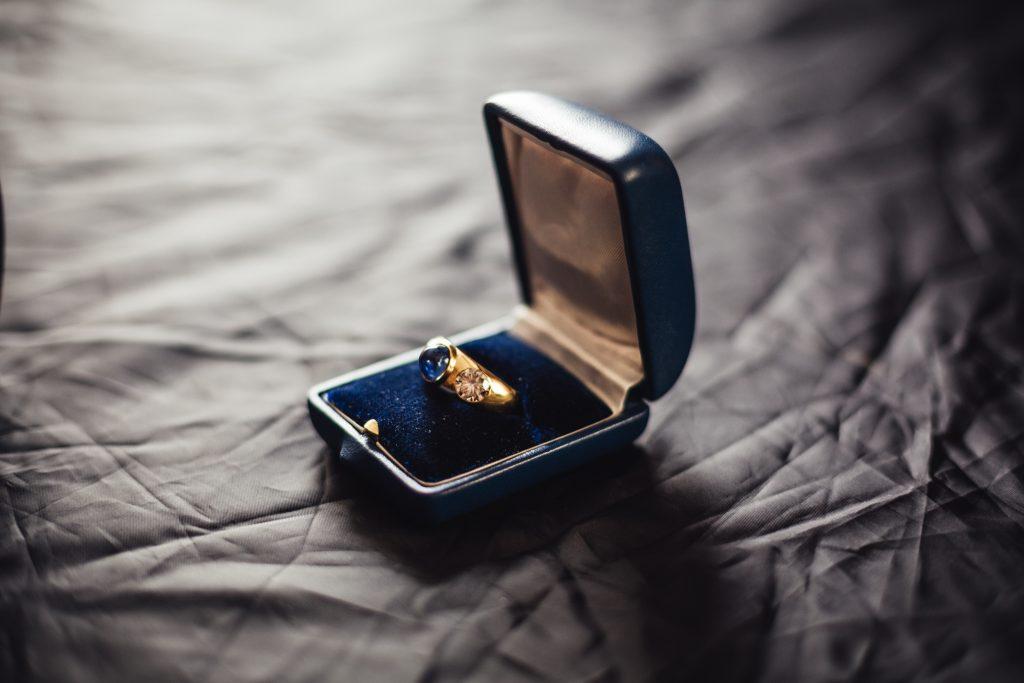 Safir-Brillant-Ring