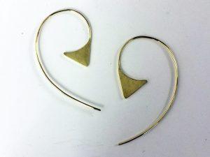schlichte Ohrhänger