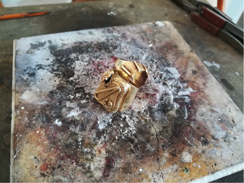 Kundeneigenes Gold