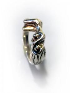 Ring Eva in Silber